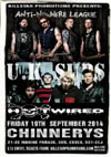 Anti-Nowhere League + U.K. Subs + Hotwired - Live at Chinnerys, Southend-on-Sea, Essex - Friday September 19th, 2014