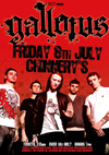 Gallows - Live at Chinnerys, Southend, on Friday July 8th, 2011