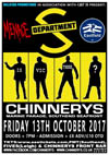 Department S + Menace + Eastfield - Live at Chinnerys, Southend-on-Sea, Essex, Friday October 13th, 2017