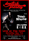 Devilish Presley + Trash Monroe + Hollywood Doll - Live at The Twist, Colchester, on Saturday May 7th, 2011