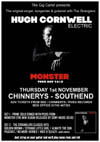 Hugh Cornwell - Live at Chinnerys, Southend-on-Sea, Essex, Thursday November 1st, 2018