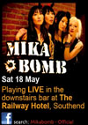 Mika Bomb - Live at The Railway Hotel, Saturday May 18th, 2013