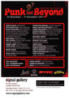 'Punk and Beyond' - Curated by Gaye Advert - November 25th - December 17th 2011, Signal Gallery, London