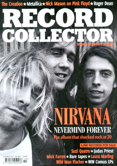 Record Collector - October 2011, No 393 - With mentions of The Stripey Zebras + The Kronstadt Uprising