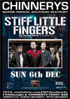 Stiff Little Fingers - Live at Chinnerys, Sunday December 6th, 2015