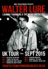 Walter Lure + Steve Hooker Stripped Down Stompin' Band - Live at The Railway Hotel, Southend-on-Sea, Essex on Wednesday September 16th, 2015