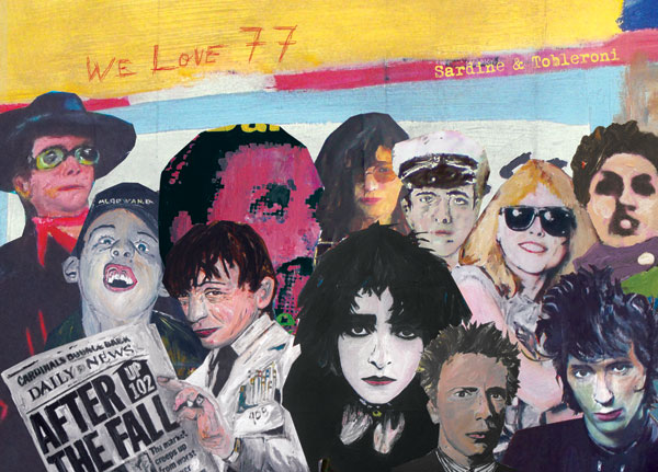 'We Love 77' - A solo show by Sardine & Tobleroni