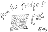 86-Mix: From The Fridge! (New Crimes Tapes, NC3)