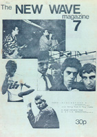 New Wave Magazine - No 7 - Care of The Dave Tulloch Archive