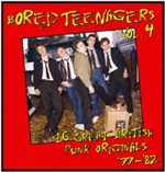 Bored Teenagers Volume Four - Various Artists - (Bin Liner Records) - Features x2 Tracks by The Machines