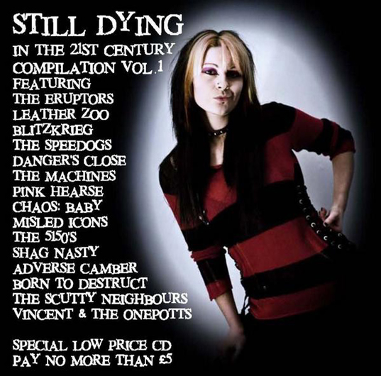 'Still Dying in The 21st Century Compilation CD - Volume 1' - Features The Machines song 'Weekend' - Available From 26.10.09