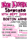 The Machines - Live at The Boston Arms, London - 10.09.06