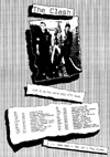 The Clash - White Riot '77 Tour - Newspaper Advert