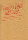 "Projection Records - 7"" Single Bag"