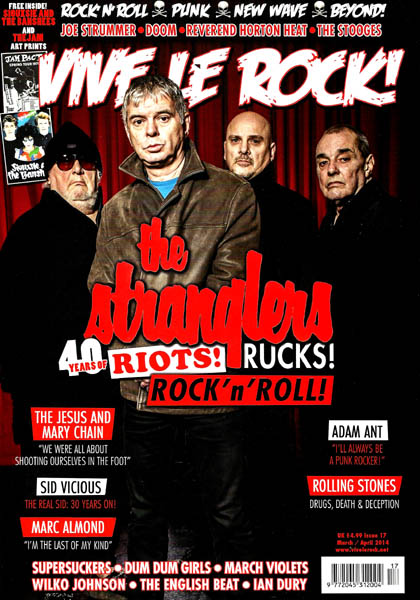 Vive Le Rock - Issue 17 - March / April 2014 - Plus Free Siouxsie & The Banshees / The Jam Art Prints