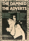 'The Damned Can Now Play Three Chords, The Adverts Can Play One, Hear All Four Of Them At...' - Newspaper Advert - 1977