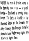 'Southend Punk Haven' - Evening Echo - 27.06.77