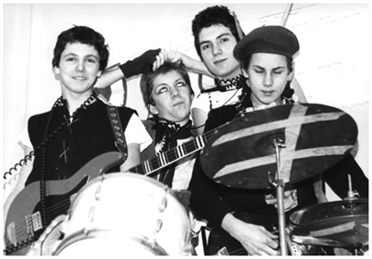 The Spurts - Early 1978 - (Photograph c/o Steve Manuell)