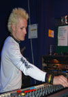 Mike - Chinnery's Sound Man - Photograph by China Doll