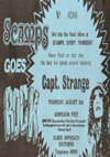 Captain Strange - Live at Scamps - 02.08.79 - Ticket