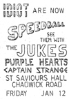 Captain Strange - Live at St Saviours Hall - 12.01.79 - Poster (Possibly only Speedball actually performed)