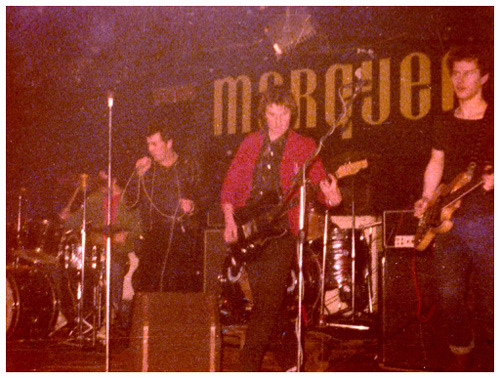 Deeno's Marvels - Live at The Marquee, London - Supporting The Suburban Studs - November 1977