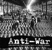 'Anti-War' (Anarcho Punk Comp Vol #1) - Features The Kronstadt Uprising song 'Blind People' - CD (Overground - OVER 103VP CD - 2005)