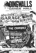 Click Here to see - 'All Night Garage Service' - Album Release Party at Dingwalls, London - Flyer