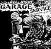 'All Night Garage Service' - Features The Vulture Squadron song 'Dig Your Own' - LP (Waterfront Records WF 029 - 1986)